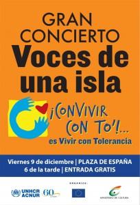 voces de una isla concert 2011