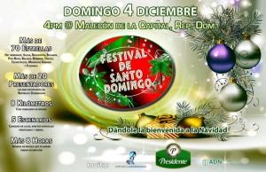 Christmas festival de santo domingo 2011
