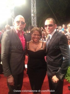 Los Hermanos Rosario on the Red Carpet Casandra Awards 2012