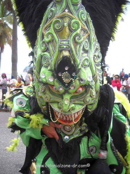 carnival on the malecon santo domingo