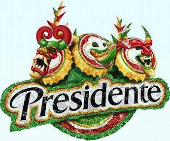presidente cerveza carnaval dominicano logo