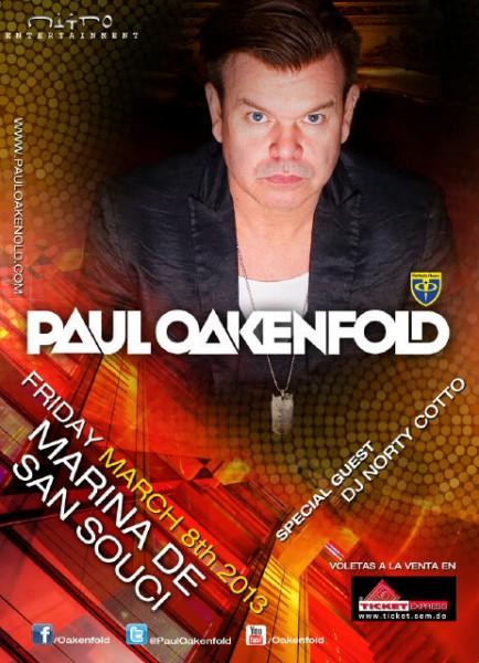 Paul Oakenfold at Marina San Souci 3-8-2013
