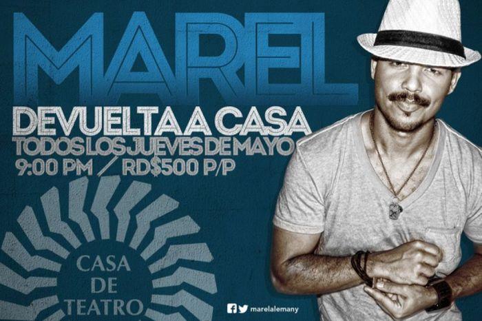 Marel Alemany at Casa de Teatro in May