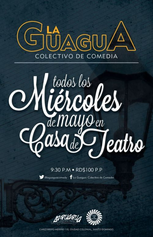 La Guagua every Wednesday in May 2013