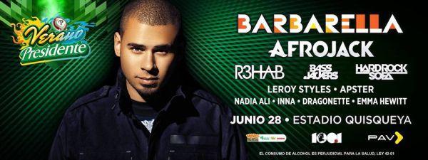 Fiesta Electrónica-Pop featuring Barbarella in Santo Domingo