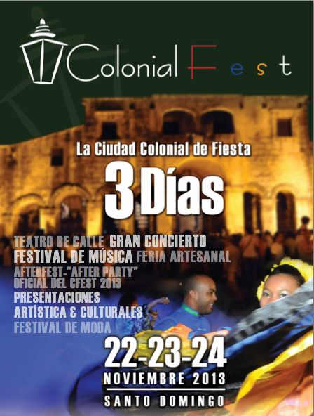Colonial Fest November 22, 23, 24, 2013