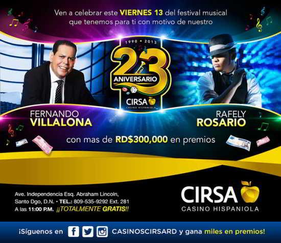 Rafely Rosario y Fernando Villalona 9-13-2013