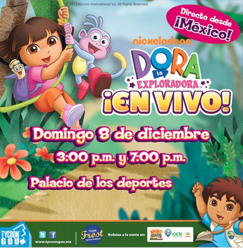 Dora the Explorer in Dominican Republic 2013