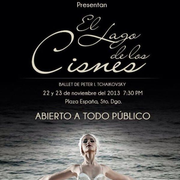 Swan Lake - El lago de los cisnes at Plaza Espana 11-23 and 24 - 2013.