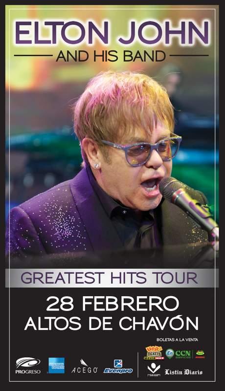 Elton John at Altos de Chavon, Dominican Republic 2-28-2014
