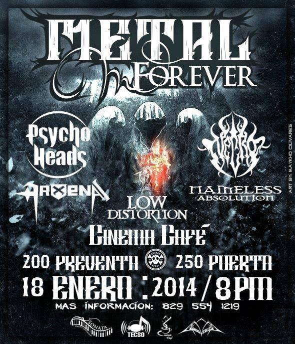 Metal Forever at Cinema Cafe 1-18-2014