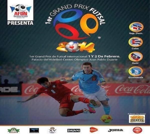 1st Grand Prix de Fútbol de Sala Feb. 1 and 2, 2014