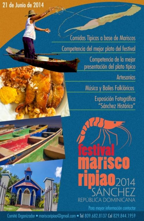 Sanchez Primer Festival del Marisco Ripiao Junio 21, 2014