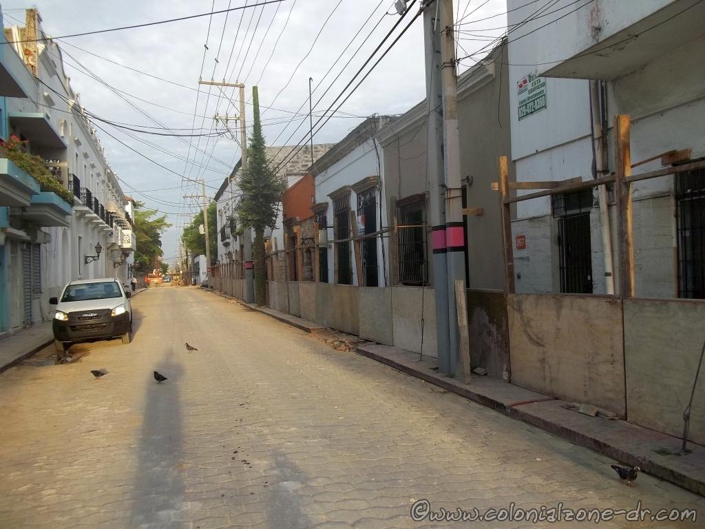 Calle Padre Billini from Merino to Isabel La Catolica June 6, 2014