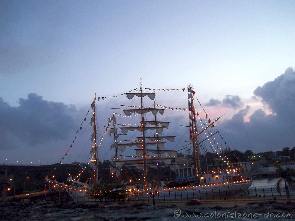 Velas Santo Domingo 2014. The tall ships visit Santo Domingo.