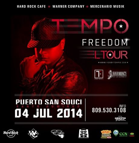 "Tempo Freedom ""El Tour"" 7-4-2014"