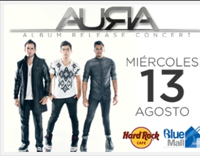 AURA - Hard Rock Cafe, Blue Mall, 8-13-2014