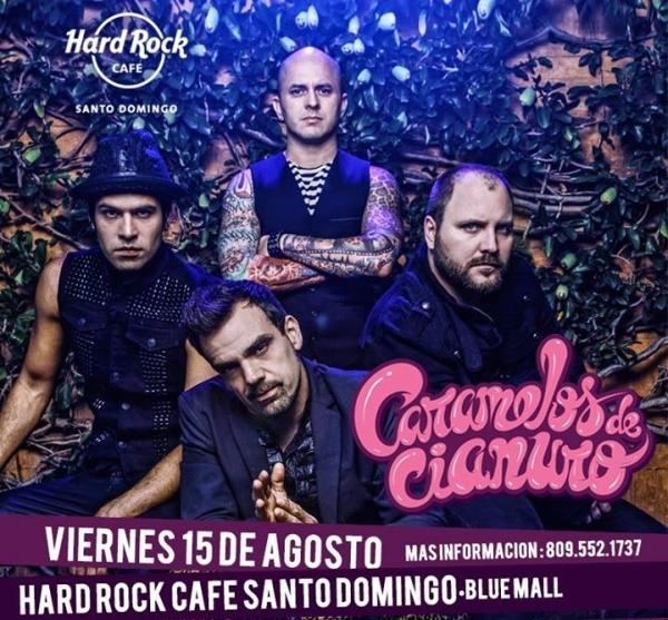 Caramelos de Cianuro Hard Rock Cafe 8-15-2014