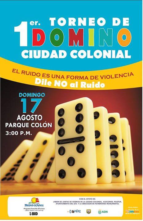 Dominó de Ciudad Colonial 17-8-2014 / Domino Tournament Colonial Zone 8-17-2014