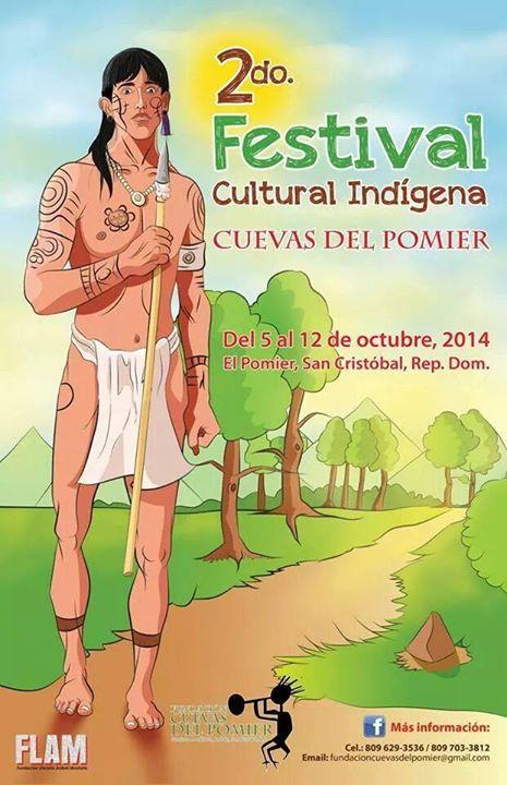 2nd Indigenous Cultural Festival 2014 in Pomier Caves, San Cristobal. / 2do Festival Cultural Indígena del Pomier, San Cristóbal 2014.