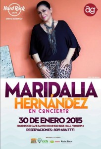 Maridalia Hernández- Hard Rock Café 1-30-2015