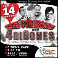 Valentines Comedy Cinema Cafe 2-14-2015
