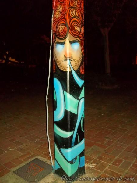 Art postes de luz Parque Duarte