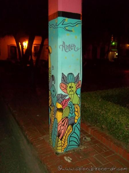Art Postes de Luz in Parque Duarte