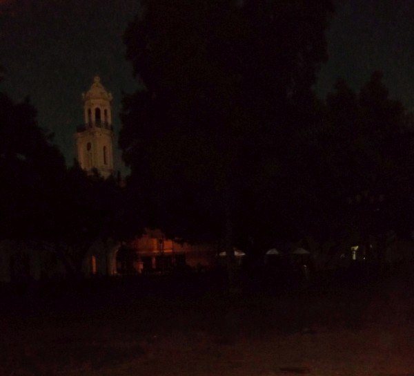 Parque Colon without lights