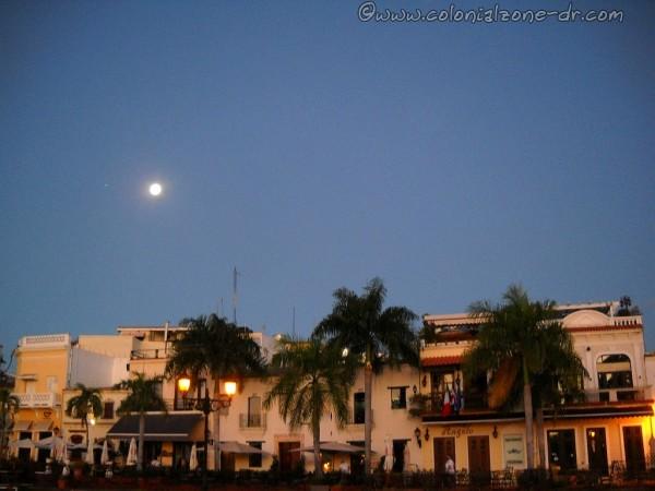 Full Moon over Plaza Espana and Las Atarazanas 4-6-2015