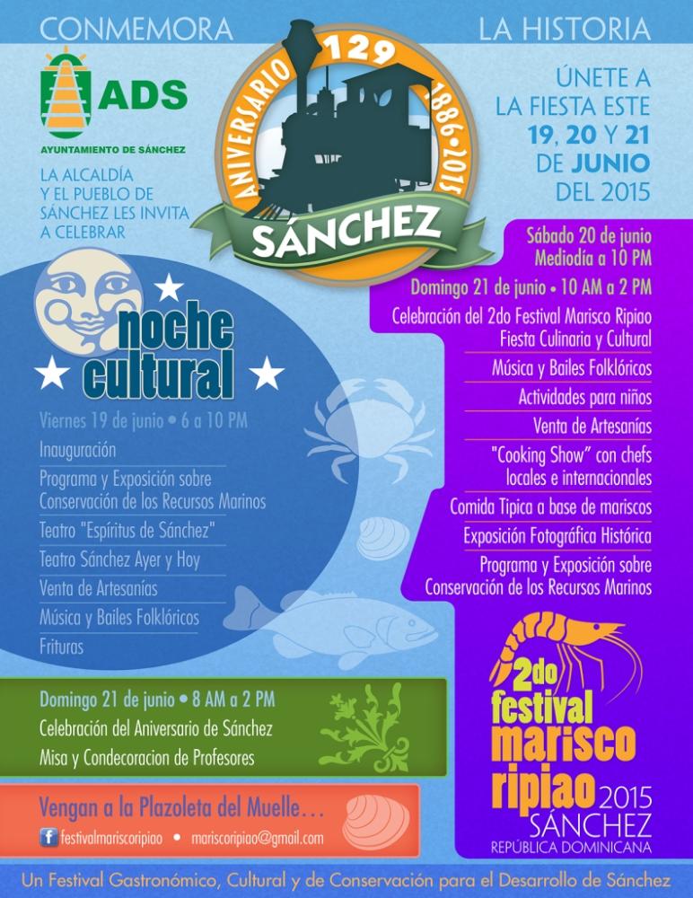The Second Annual Cultural Festival, Marisco Ripiao / 2nd Festival del Marisco Ripiao