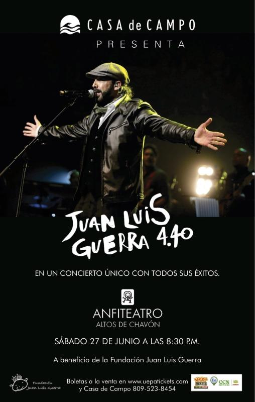 Juan Luis Guerra Benefit Concert 6-27-2015