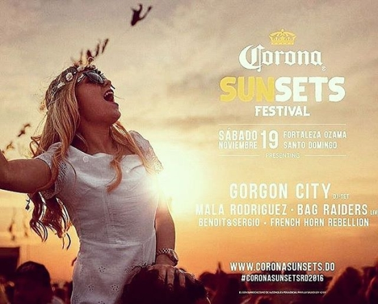 Corona Sunset Fest 2016 Dominican Republic