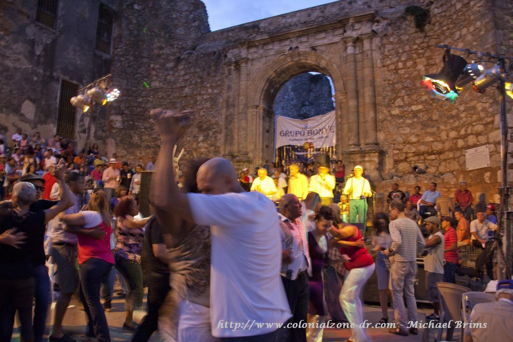 Dancing the night away with Grupo Bonye- picture by Michael Brims