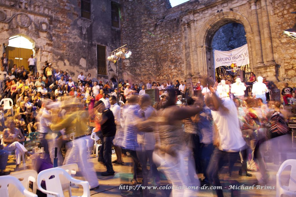 People dancing the night away with Grupo Bonye - picture by Michael Brims