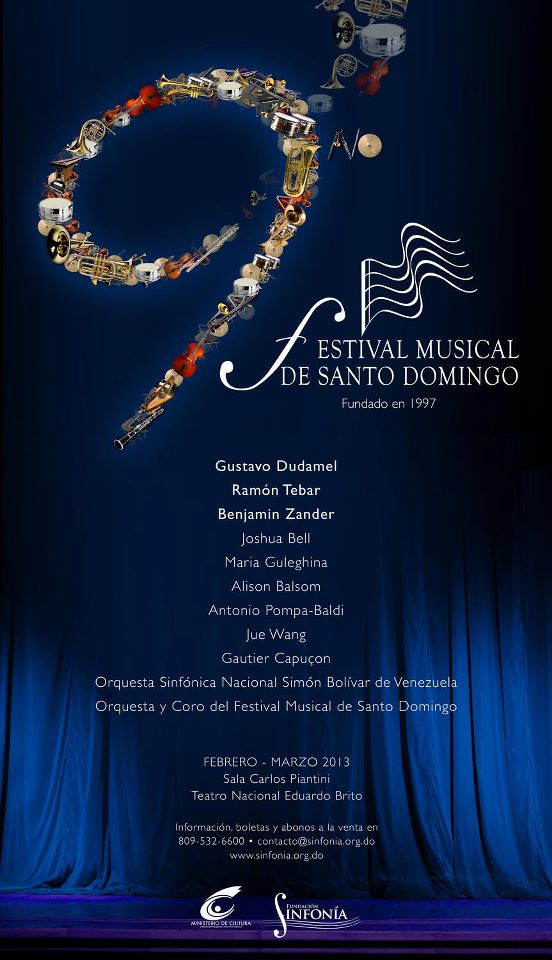 Festival Musical Santo Domingo 2013