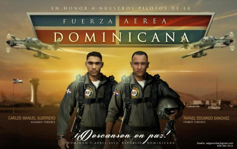 Honor to Pilots Fuerza Aerea Dominicana 2013