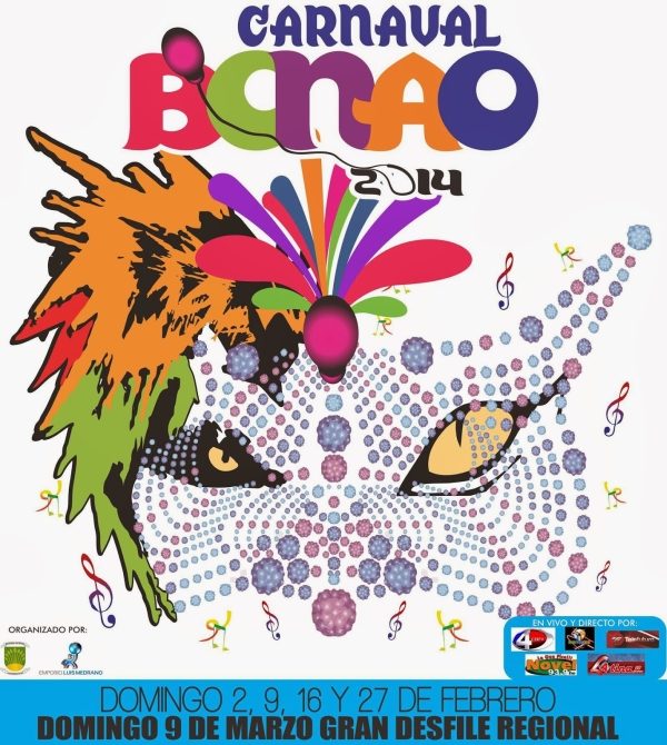 Carnaval Bonao every Sunday in Feb.