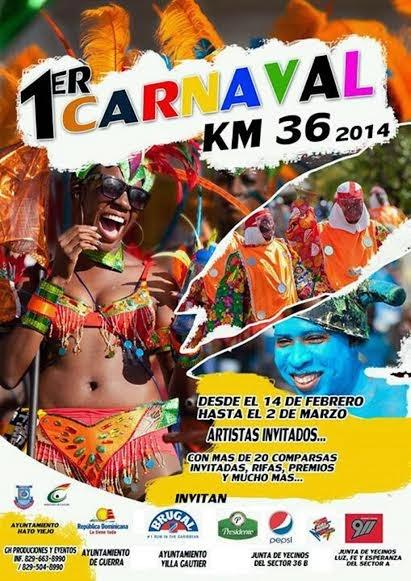Carnaval KM36 Boca Chica