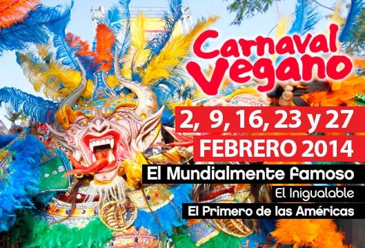 Carnaval Vegano 2014 - La Vega Carnival 2014