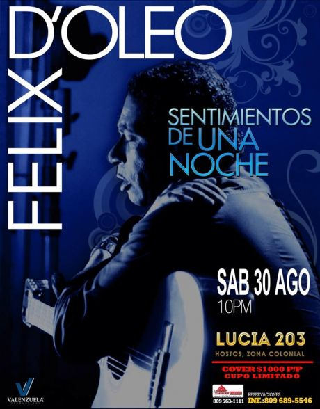 Félix D'oleo at Lucia 203 8-30-2014