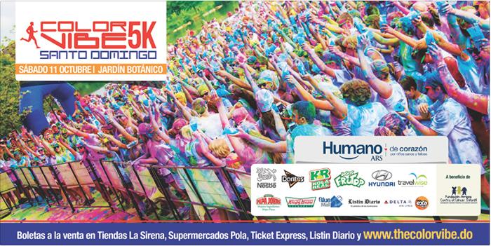 Color Vibe 5k Santo Domingo 2014