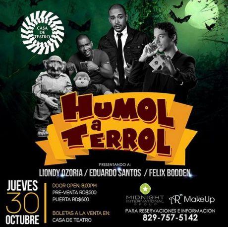 Humol a Terrol at Casa de Teatro 10-30-2014
