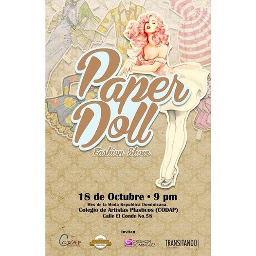 Paper Doll Fashion Show 10-18-2014