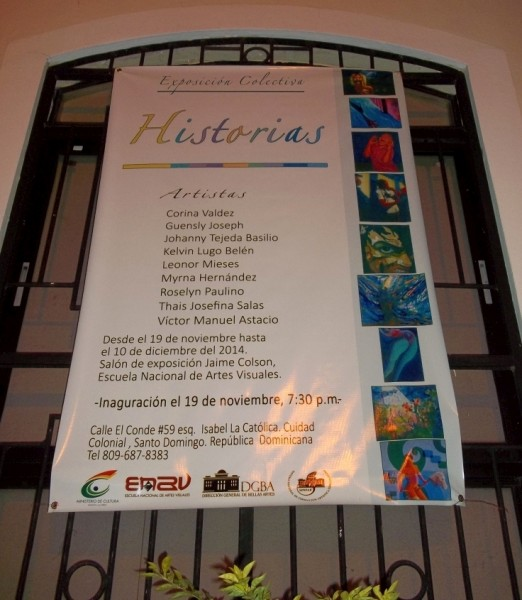 "Exposición Colectiva ""Historias"" 11-19-to-12-10-2014"