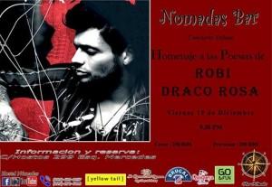 Homenaje to Maestro Robi Draco Roas at Bar Hostal Nomadas