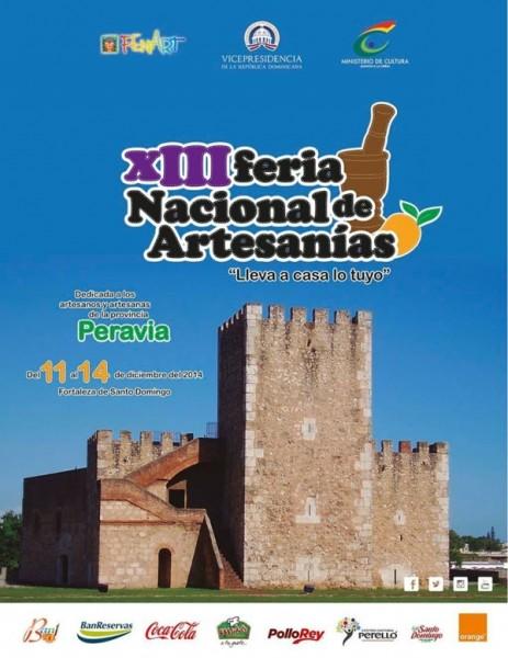 La XIII Feria Nacional de Artesanías Dominicanas (FENART 2014)