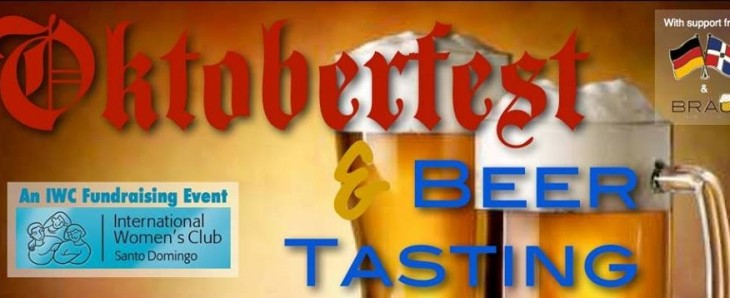 Oktoberfest and Beer Tasting sponsored by the International Women's Club of Santo Domingo,