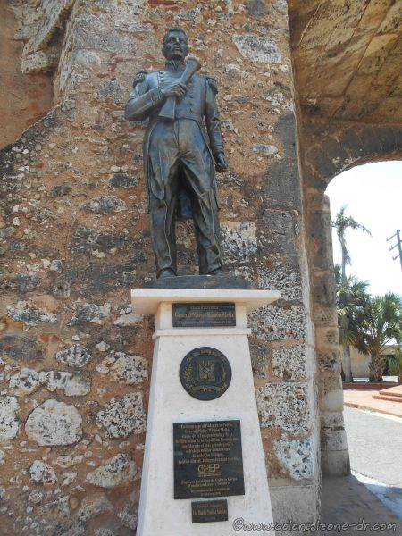 Monument honoring Matías Ramón Mella, Padre de la Patria