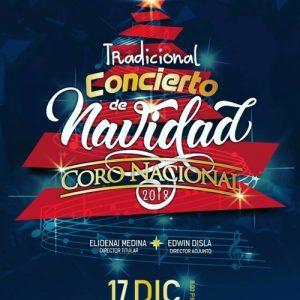 Tradicional Concierto Navidad 2018 del Coro Nacional Dominicano